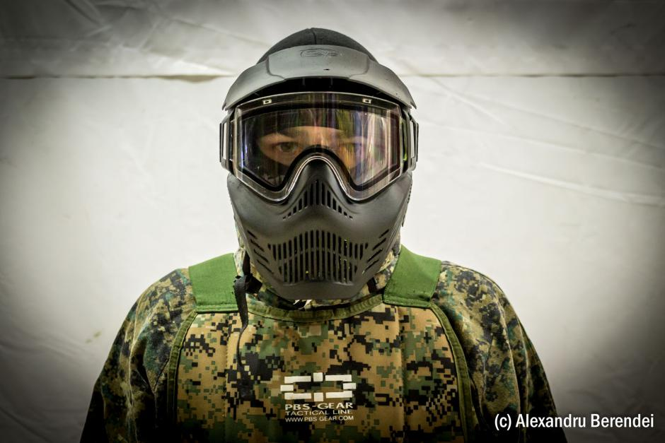 Masca anti-aburire full face Paintball