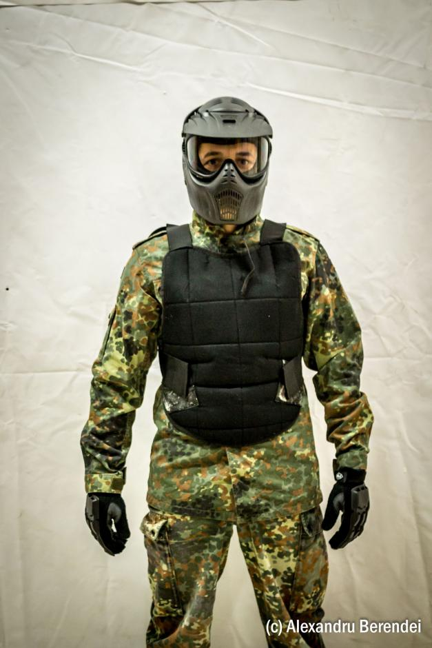Vesta de protectie paintball